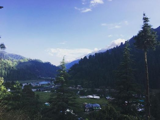 It was quite a hike to reach the spot but the shot was totally worth it, Barot, Himachal Pradesh, India.