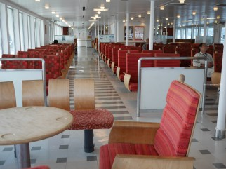 The ferry to Teshima
