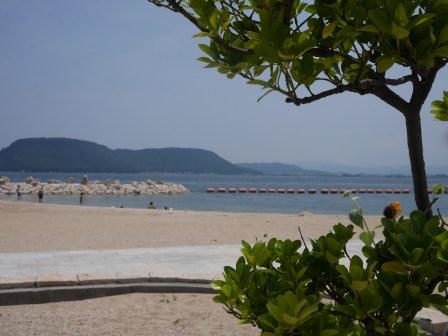 The beach in Megijima
