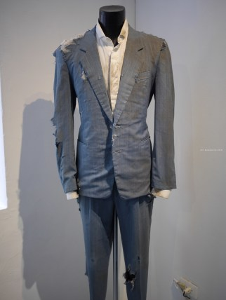 "Suit worn by Karl Van Laere in his performance art ""Slow"" — at Taipei Artist Village."