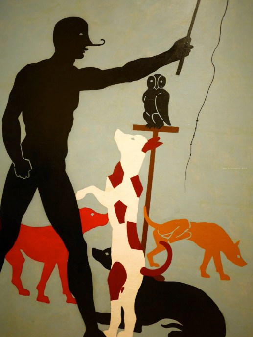 Francis Picabia's exhibit.
