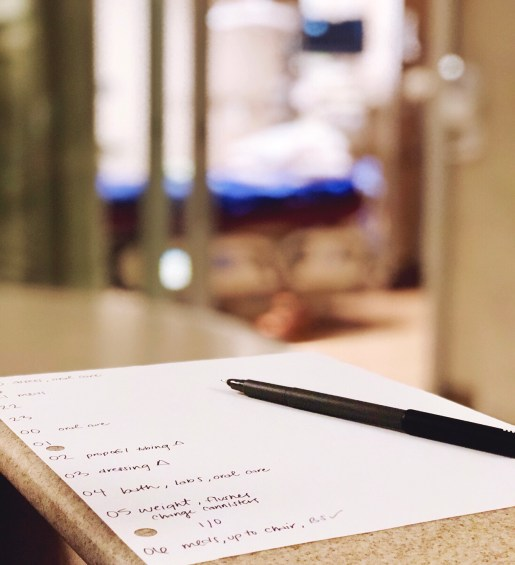 New icu nurse report sheet