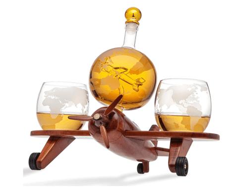 Airplane Liquor Decanter