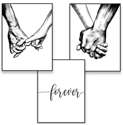 HANDS FOREVER CANVAS WALL ART