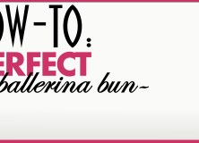 Hairstyle How To Create the Perfect Ballerina Bun Feature