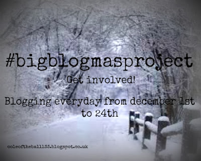 The #bigblogmasproject - blogging every day in December!
