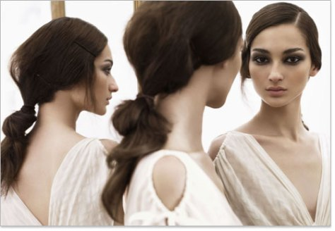 Low Ponytail Hairstyle How To