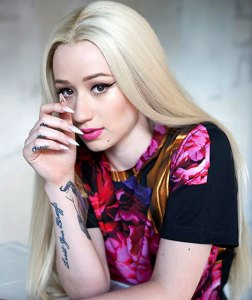 Iggy-Azalea-Makeup Hair Celebrity Makeup Tips