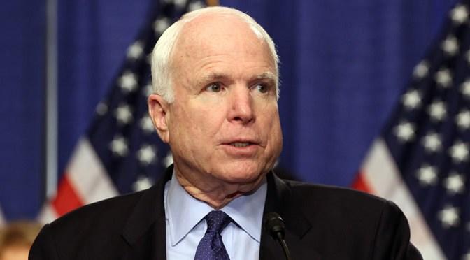 John McCain Makeup and Hair