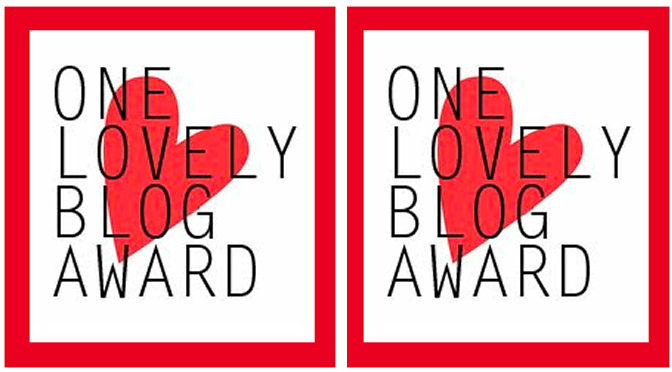 One Lovely Blog Award Feature