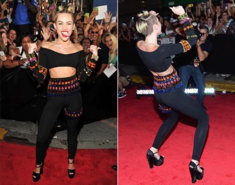 Miley Cyrus MTV VMA Awards 2013 Dolce Gabbana