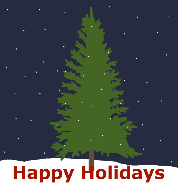 I made this wonderful holiday card for you to send people. I made this for you.