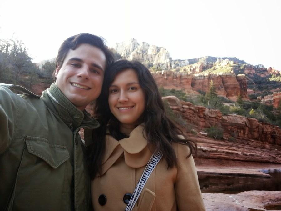 Danny & Ellie at Slide Rock