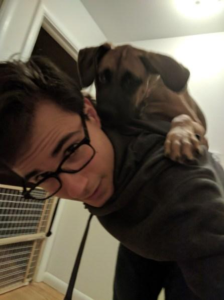Shoulder dog