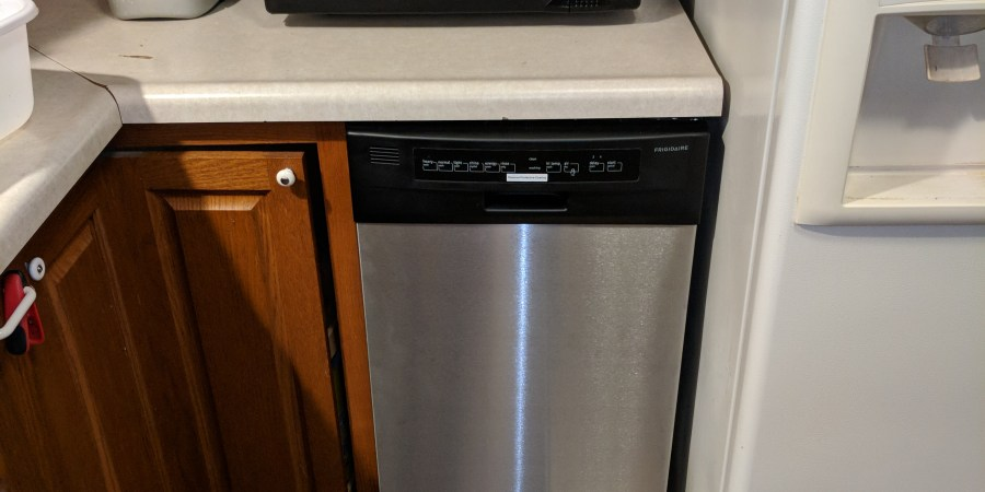 Dishwasher Install 2