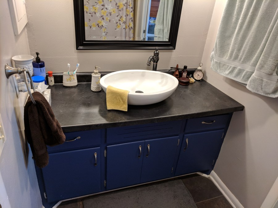 Bathroom Vanity Finished
