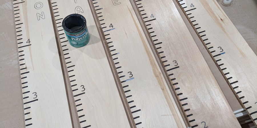 Growth rulers polyurethane