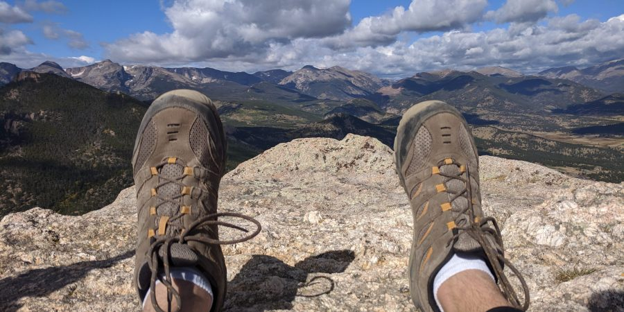 On top of the world Estes Park Colorado