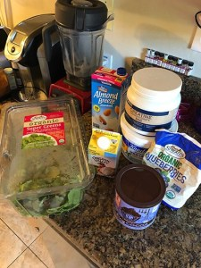 Keto shake ingredients