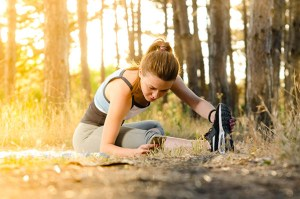 get outside and run walk jog hike swim to workout easily
