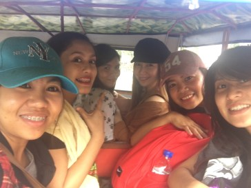 Tryc going to Panagsama beach