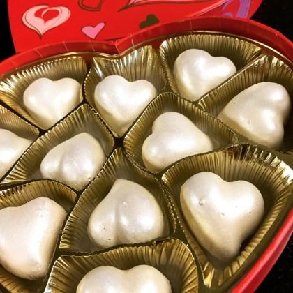 Sassy Pecan Red Velvet Cake Heart Truffles