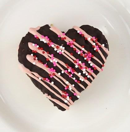 Chocolate Peanut Butter Heart