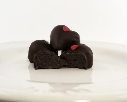 Chocolate Covered Strawberry Cake Truffle