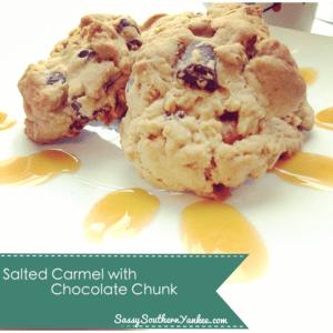 Salted Carmel with Chocolate Chunk