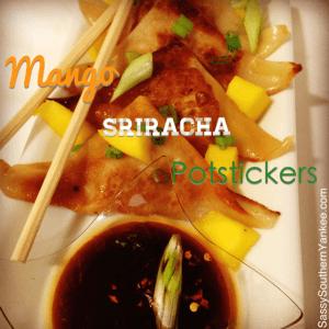 Mango Sriracha Potstickers