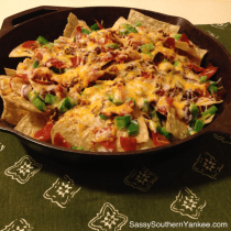Pizza Nachos from Sassy Southern Yankee