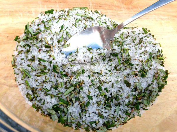 Rosemary Infused Sea Salt 3