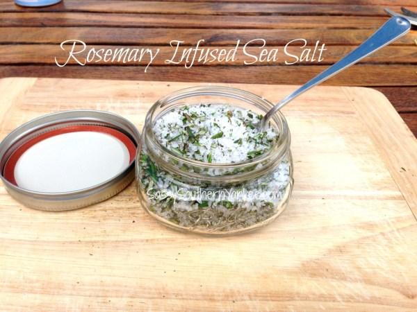 Rosemary Infused Sea Salt