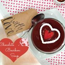 Chocolate Bourbon Soup Square