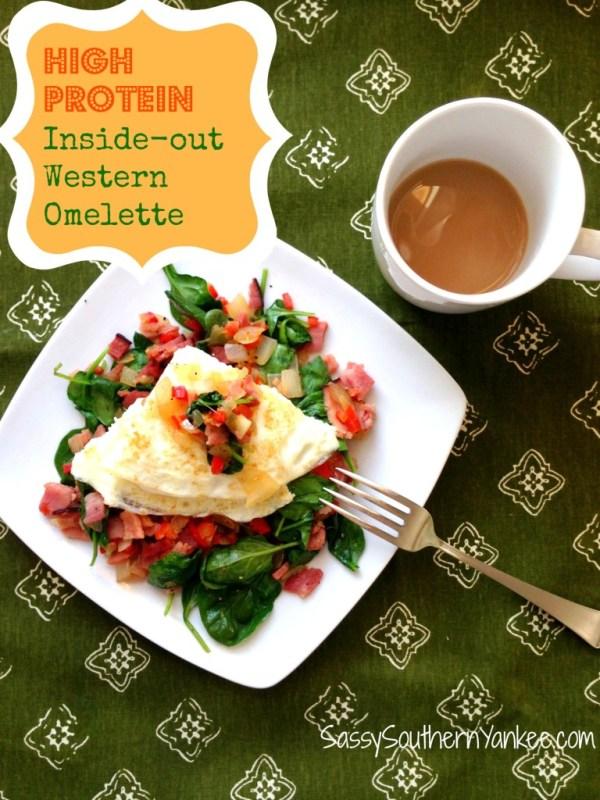 Inside-out Western Omelette 4