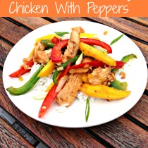 Stir-Fried Chili Mango Chicken With Peppers 6