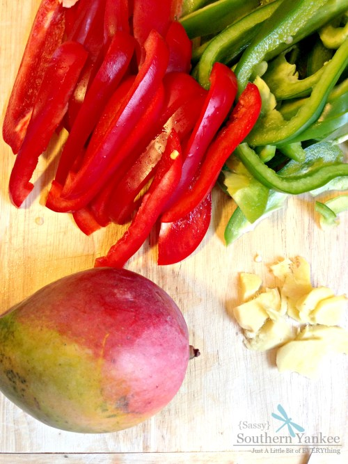 Stir-Fried Chili Mango Chicken With Peppers