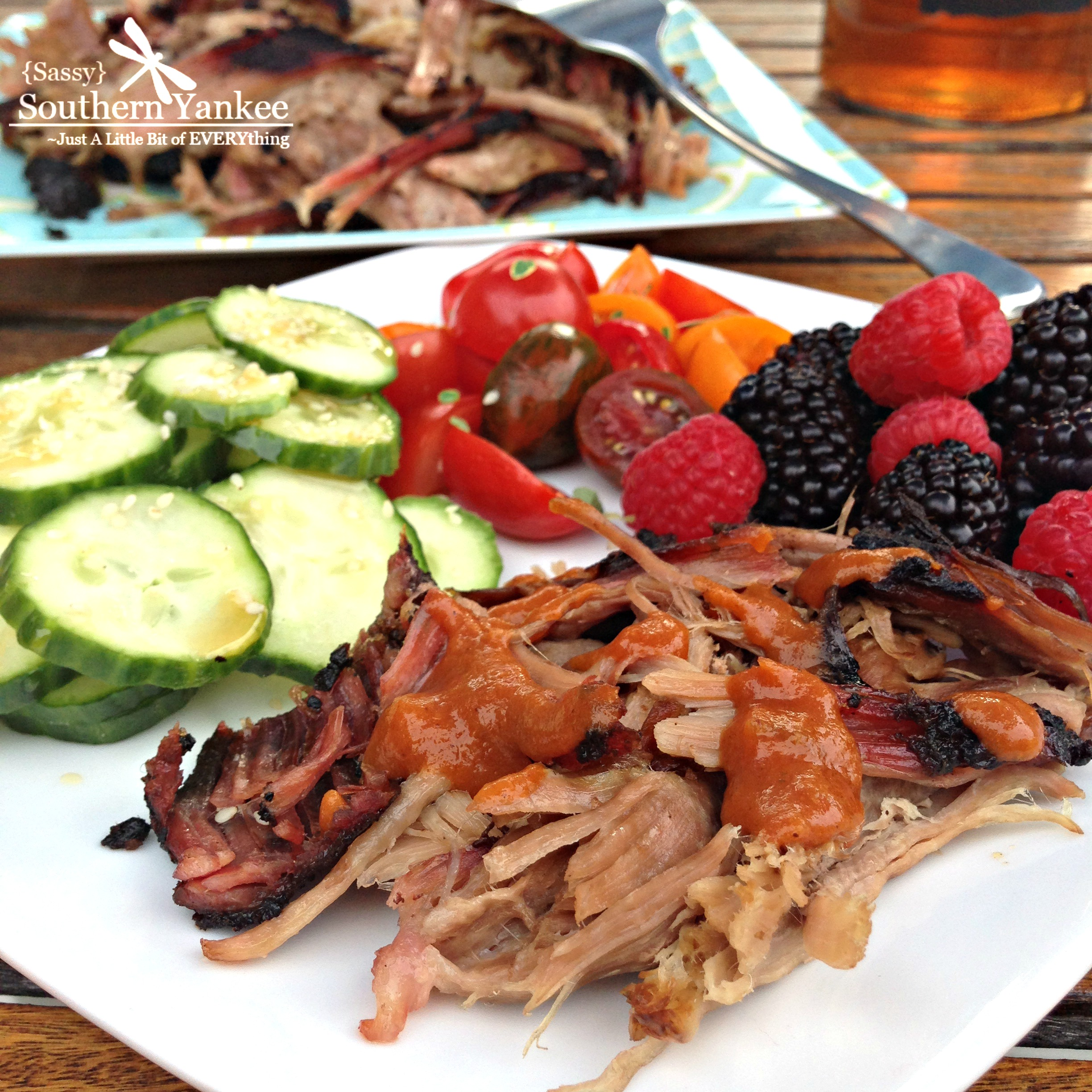 Barbecue Means Different Things To Different People In Different Parts Of The Country To Me It Means Smoked Pork Shoulder That Has Been Grilled Using The