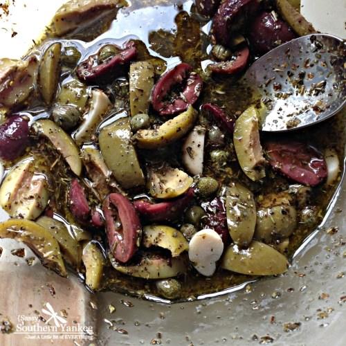 Artichoke, Feta Cheese and Olive Potato Salad 1
