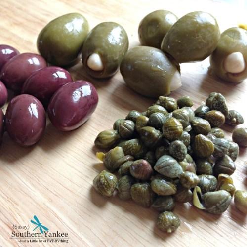 Artichoke, Feta Cheese and Olive Potato Salad