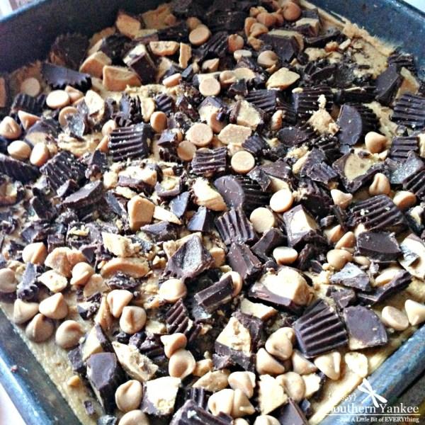 Dark Chocolate Peanut Butter Brownies 3