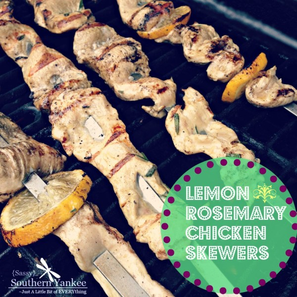 Lemon Rosemary Chicken Skewers 5