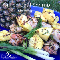 Grilled Basil Shrimp