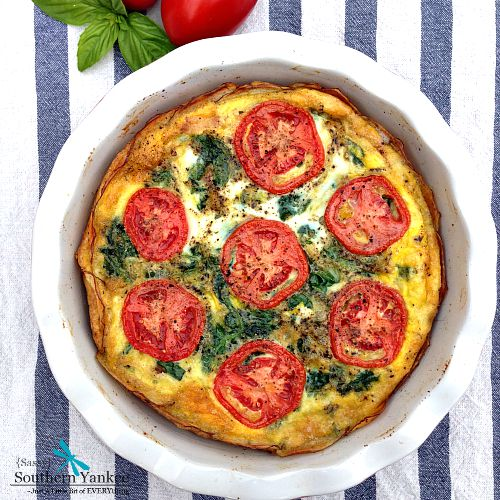 BLT Quiche Whole 30 Approved