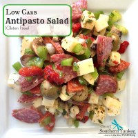 Low Carb Antipasto Salad {Gluten Free}