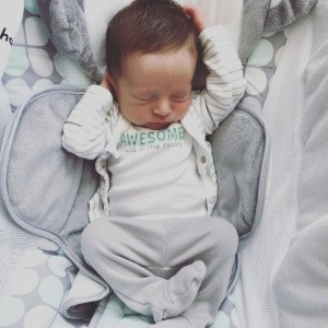 Logan 1 Month Old