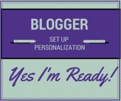 Blogger Set Up