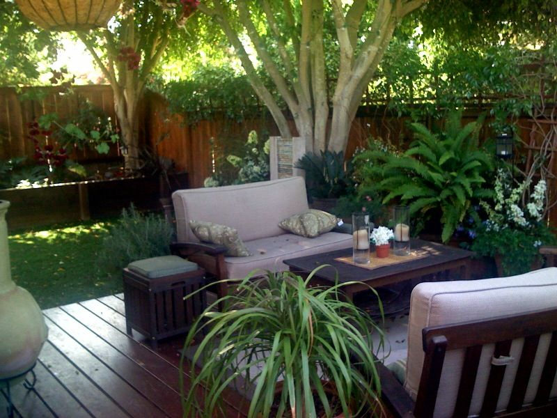 Making The Most Of A Small Backyard — Home & Garden on Back Garden Patio Ideas  id=13443