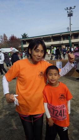 宮島クロカン結果出ました、来年の姉弟対決が楽しみです