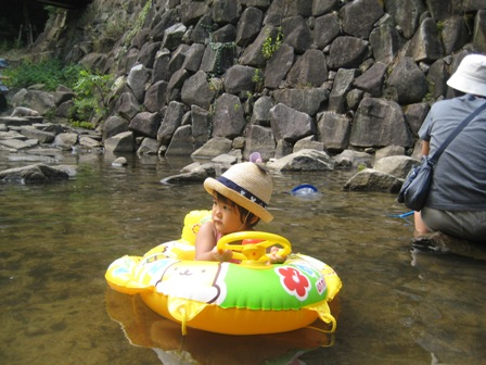 水分峡へ再び